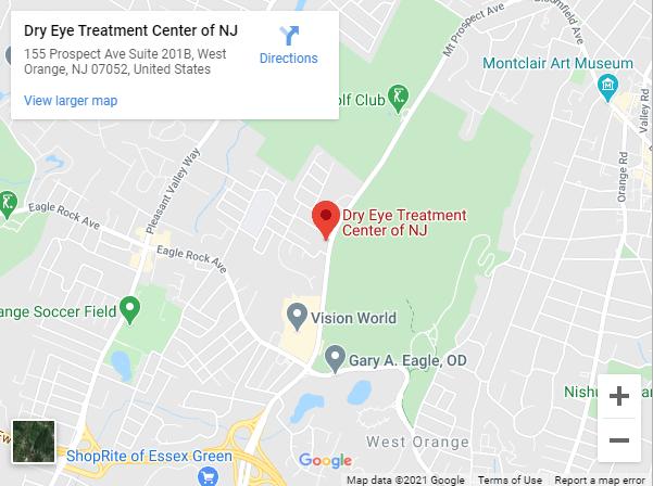 Dry Eye Treatment Center of NJ Google Maps