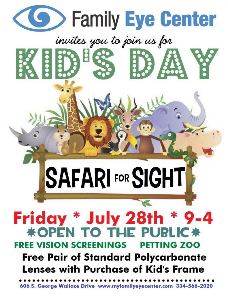 Family Eye Center, Kid's Day in Troy, AL