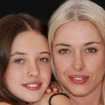 mother and daughter wearing scleral lenses