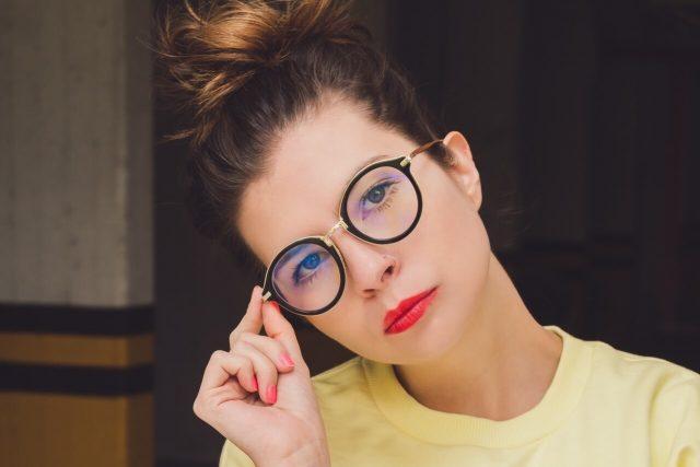 eyeglasses on hipster man in wilder ky