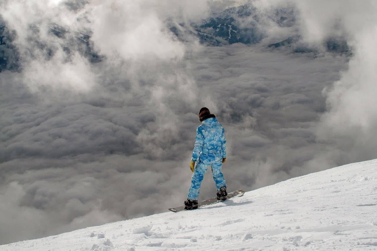 winter bgs snowboarder girl 1280×853