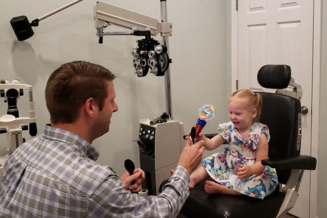 Children's Eye Exam in Lamar, CO