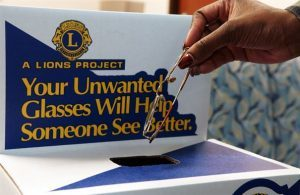lions club glasses donation in Lamar & La Junta, CO