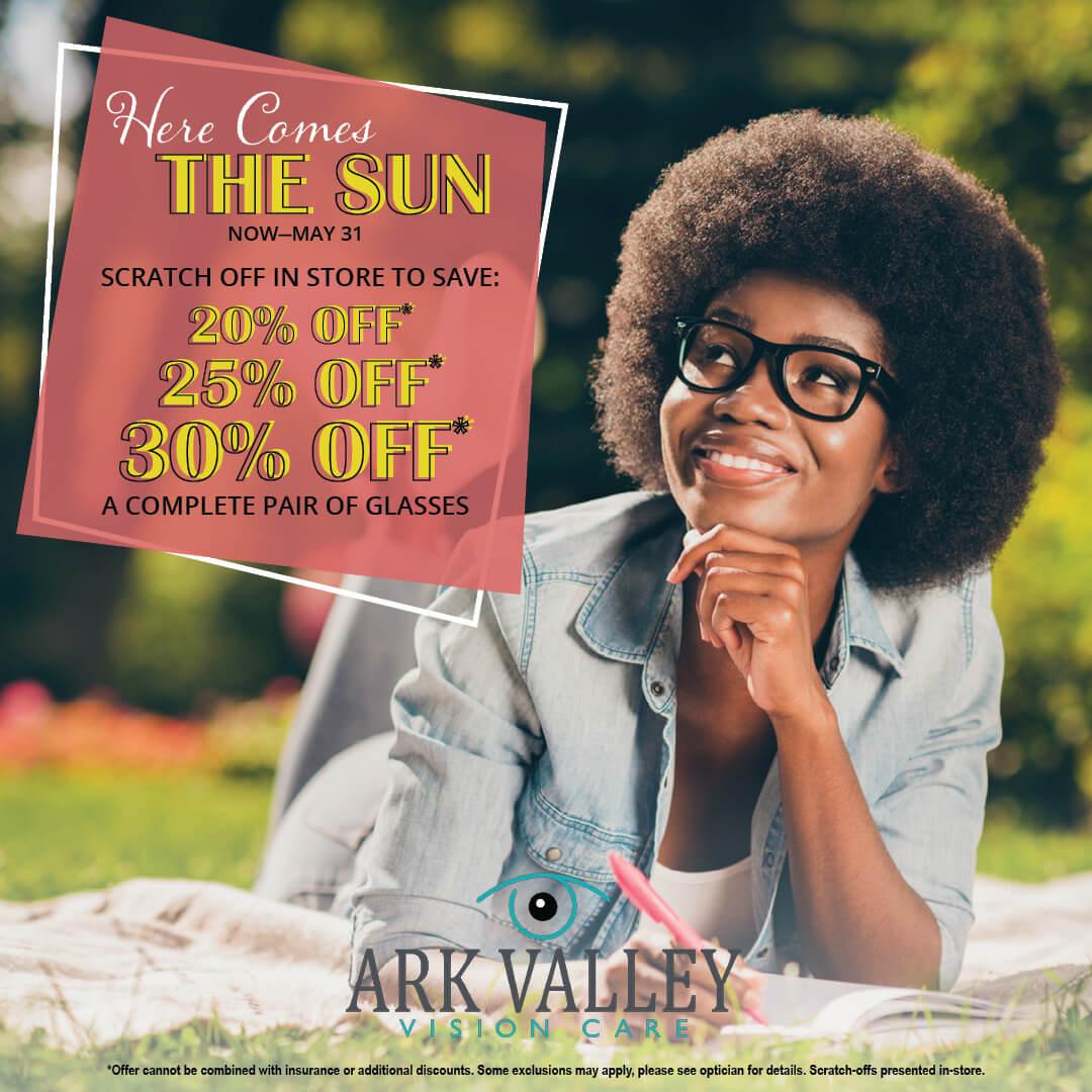 Here Comes The Sun - Glasses Sale