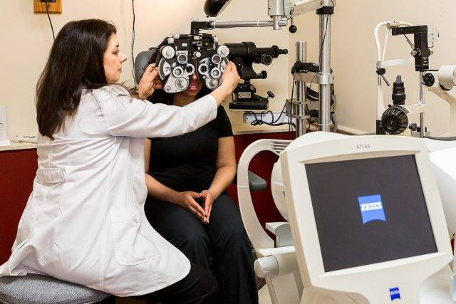 Dr Schwartz Eye Exam
