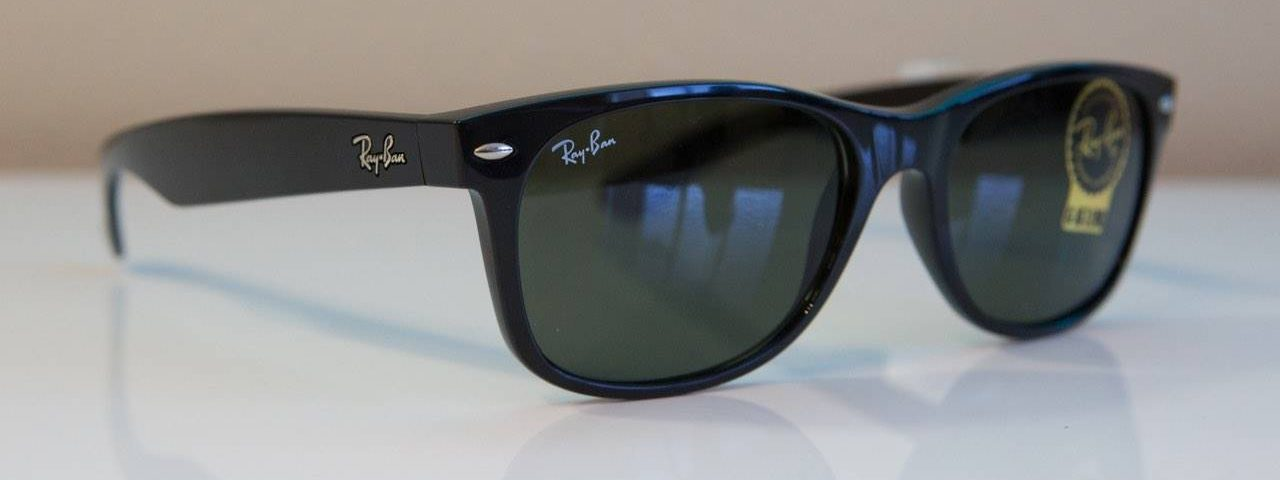 Eye doctor, woman wearing Ray-Ban sunglasses in Hartsdale, NY