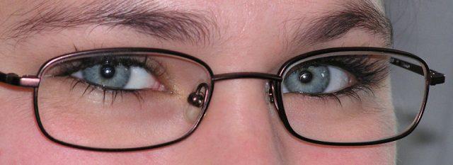 Eye doctor, woman wearing eyeglasses in Hartsdale, NY