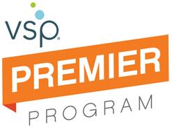 logo for vsp premier for eye care in San Jose, CA