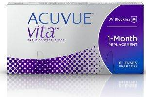 ACUVUE® VITA™ Brand Contact Lenses with HydraMax™ Technology