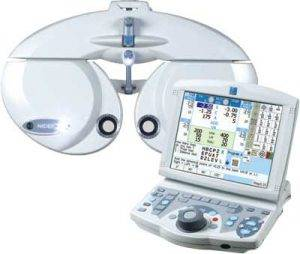 Digital phoropter_autorefractor_eye_exam