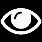 white eye icon sima