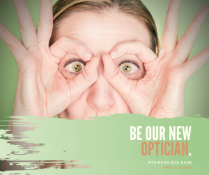 Be Our New Optician