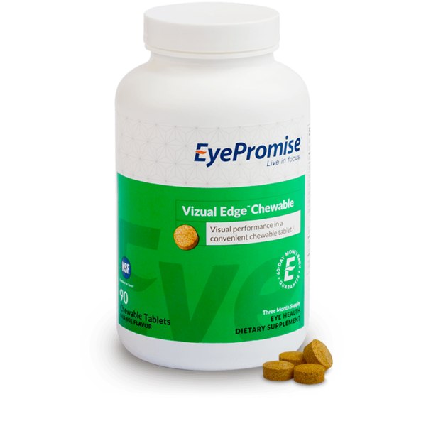 EyePromise Vizual Edge Chewable Eye Health Supplement