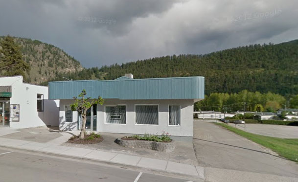 Optometrist, image of our Chase office in Chase, BC