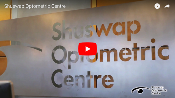 screenshot of video about shuswap optometric