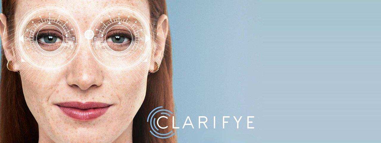 Optometrist, woman used advanced technology CLARIFYE in Mentor, Ohio