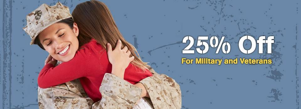 MilitaryMonth 25off Slideshow 1