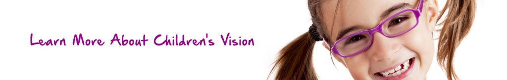 Children's Vision - Girl wearing glasses - Olathe, KS