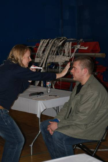 Galbrecht special olympics eye exam