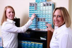 Eye doctor, Dr. Dianne Galbrecht and Joanne Galbrecht in Olathe, KS