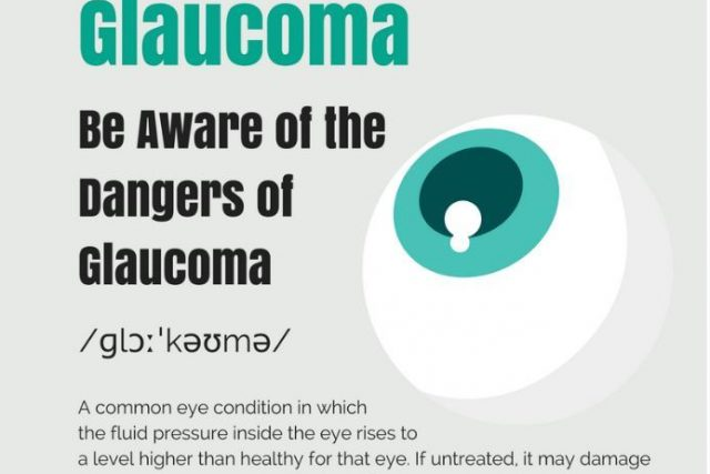 Graphic: be aware of the dangers of glaucoma, Optometrist, Olathe, KS