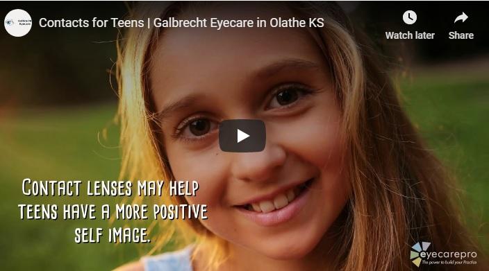 Contact Lenses for Teens Video Screenshot in Olathe, Kansas