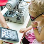 eye exam, Female Child Eye Exam in Waterloo, ON