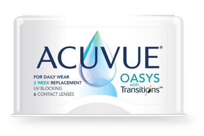 Transitions contact lenses in Charlotte