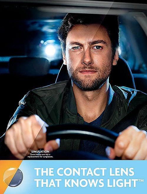 ACUVUE OASYS with Transitions contact lenses in Charlotte | Advantage Vision Center