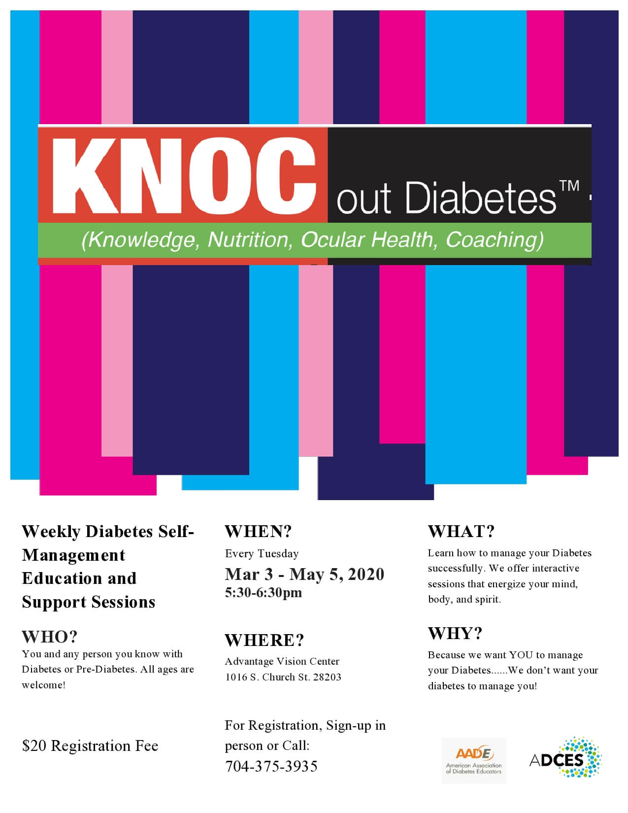 Knoc Out Diabetes - Optometrist in Charlotte, North Carolina
