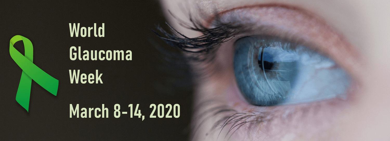 World glaucoma week banner 2020