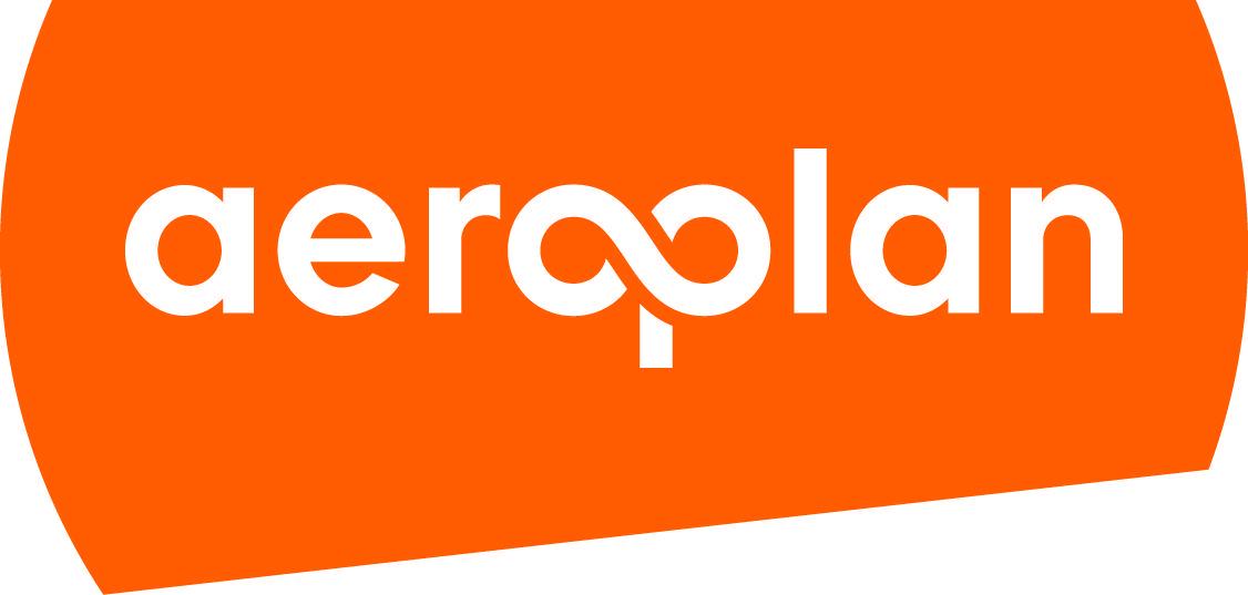 Aeroplan logo tangerine