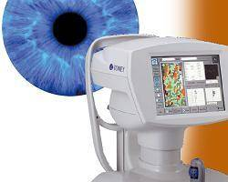 Corneal evaluation at Lenscrafters in Lake Grove