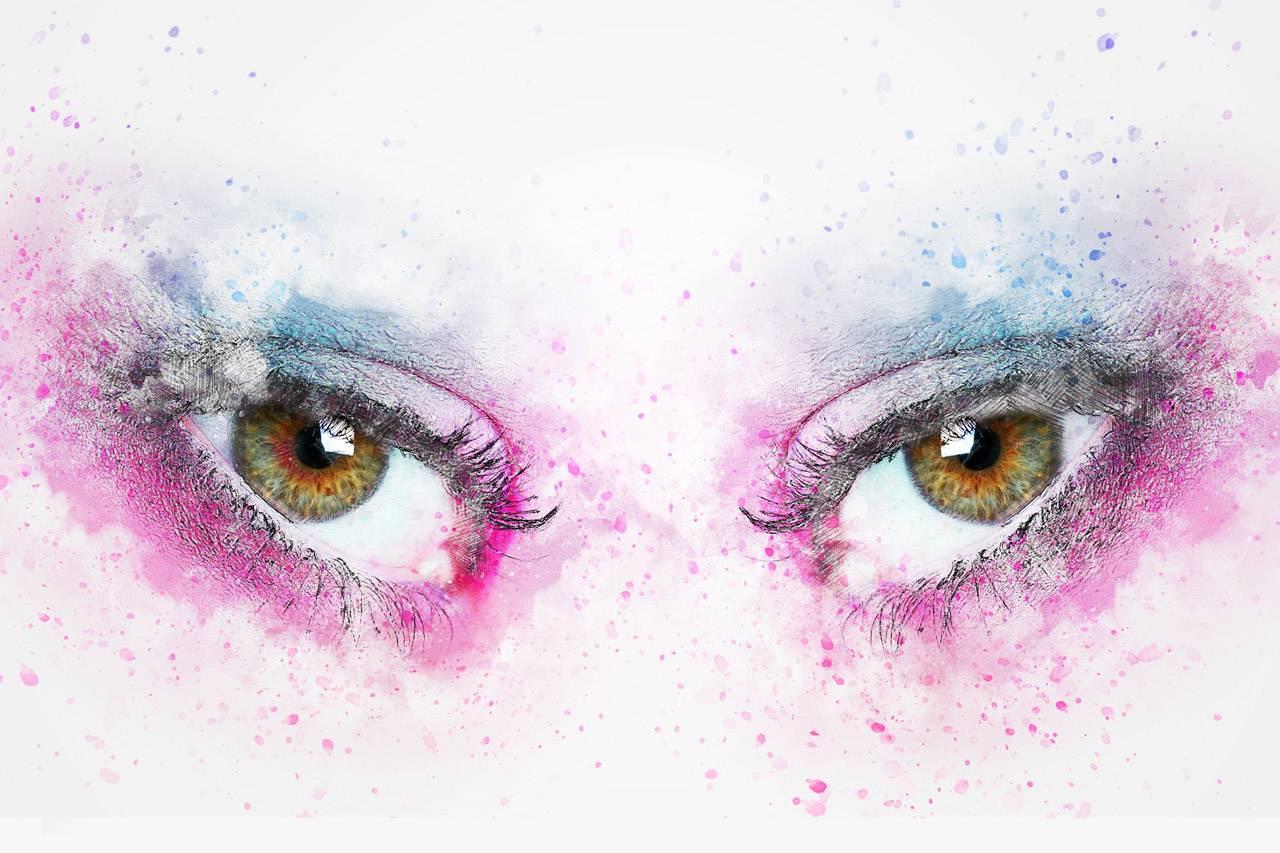 Colorful Art, Eyes