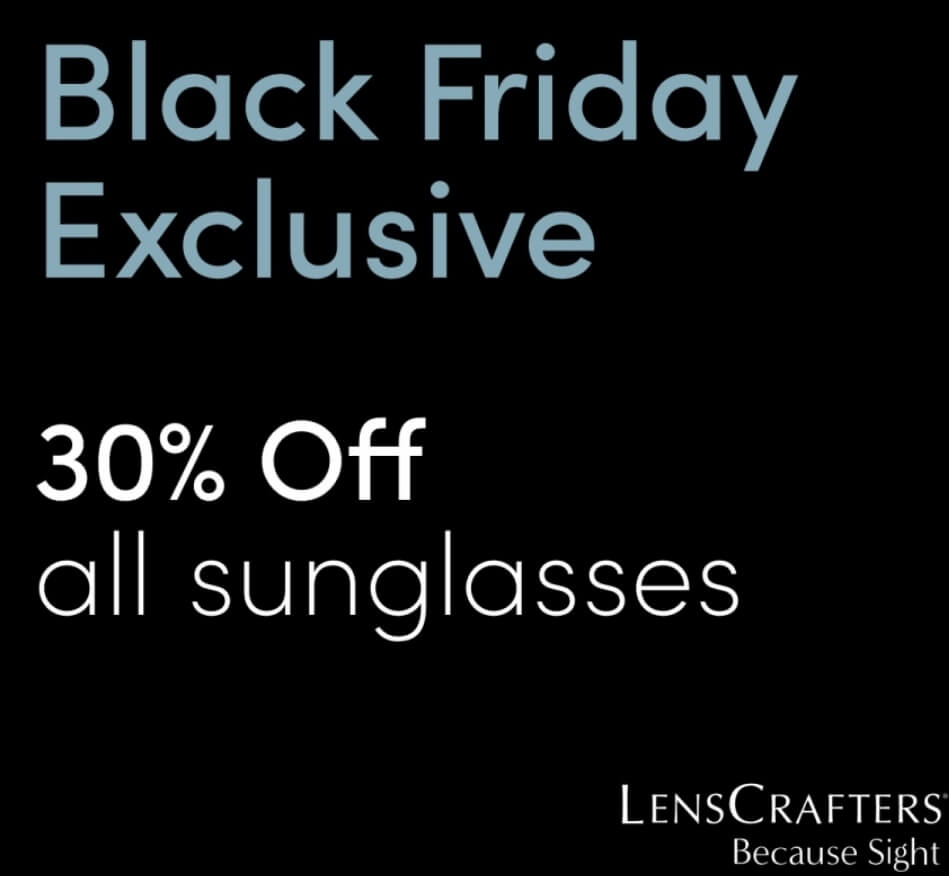Black Friday Exclusive- 30% off all sunglasses