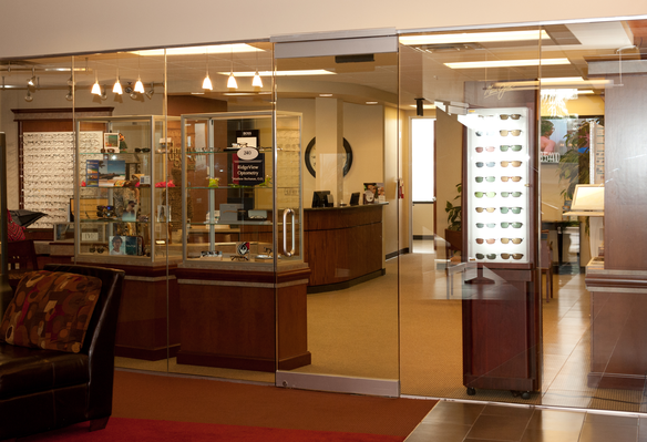 ridgeview optometry display cases rs 1