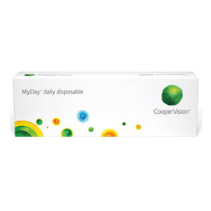 Coopervision MyDay Daily Disposable Contact Lenses