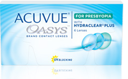 acuvue Oasys for Presbyopia - Best Sellers - Top Contact Lenses in Campbell River, BC