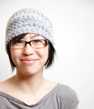 Asian woman glasses web