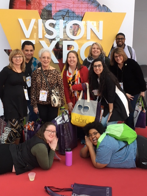 EyesOn40 Staff Photo Vision Expo East