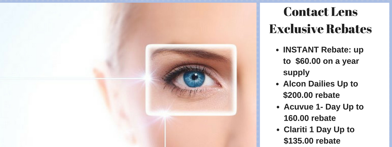 Contact Lens Exclusive Rebates