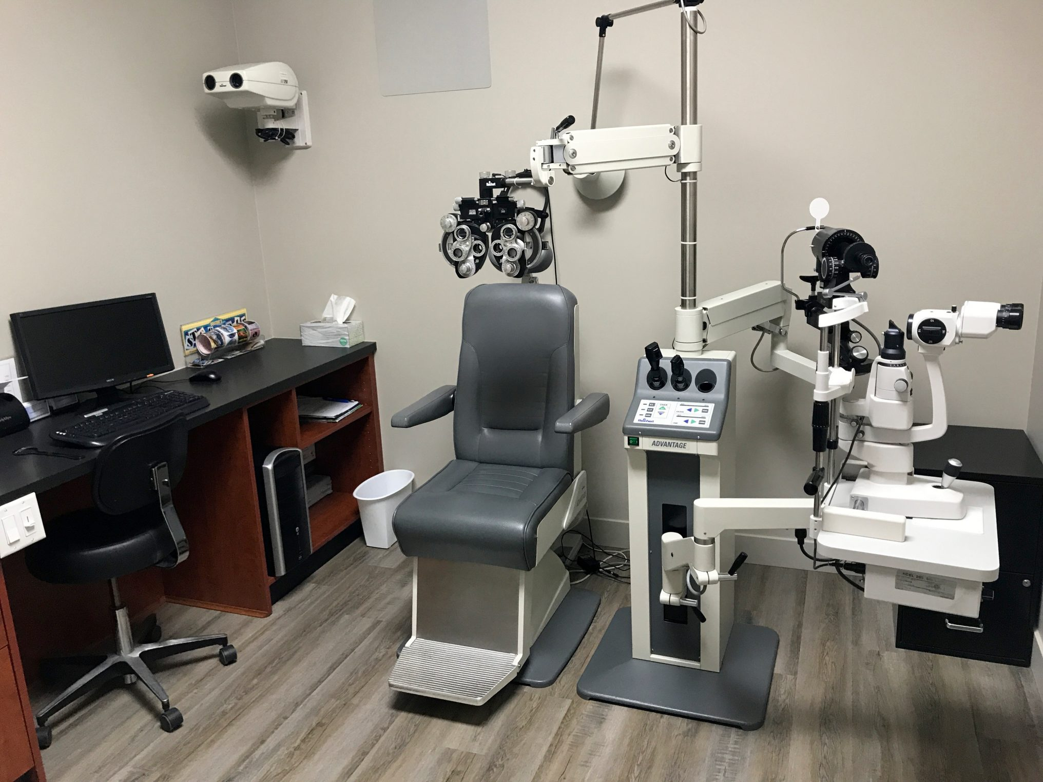 VisionFirst Optometry Exam Room
