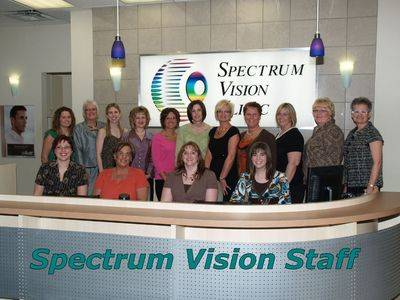 Spectrum Vision Staff, Eye Care in Fredericton, NB