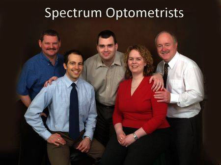Photo of our optometrists, eye care, fredericton, NB
