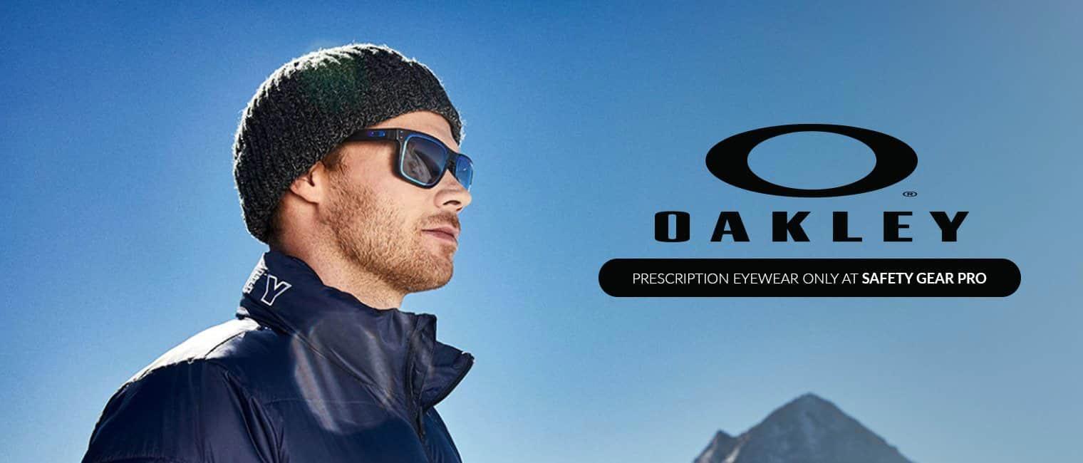 Eye doctor, man with Oakley sunglasses in San Jose, CA