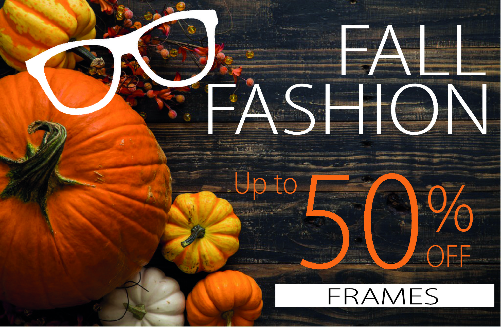 Fall Frame Sale Icon