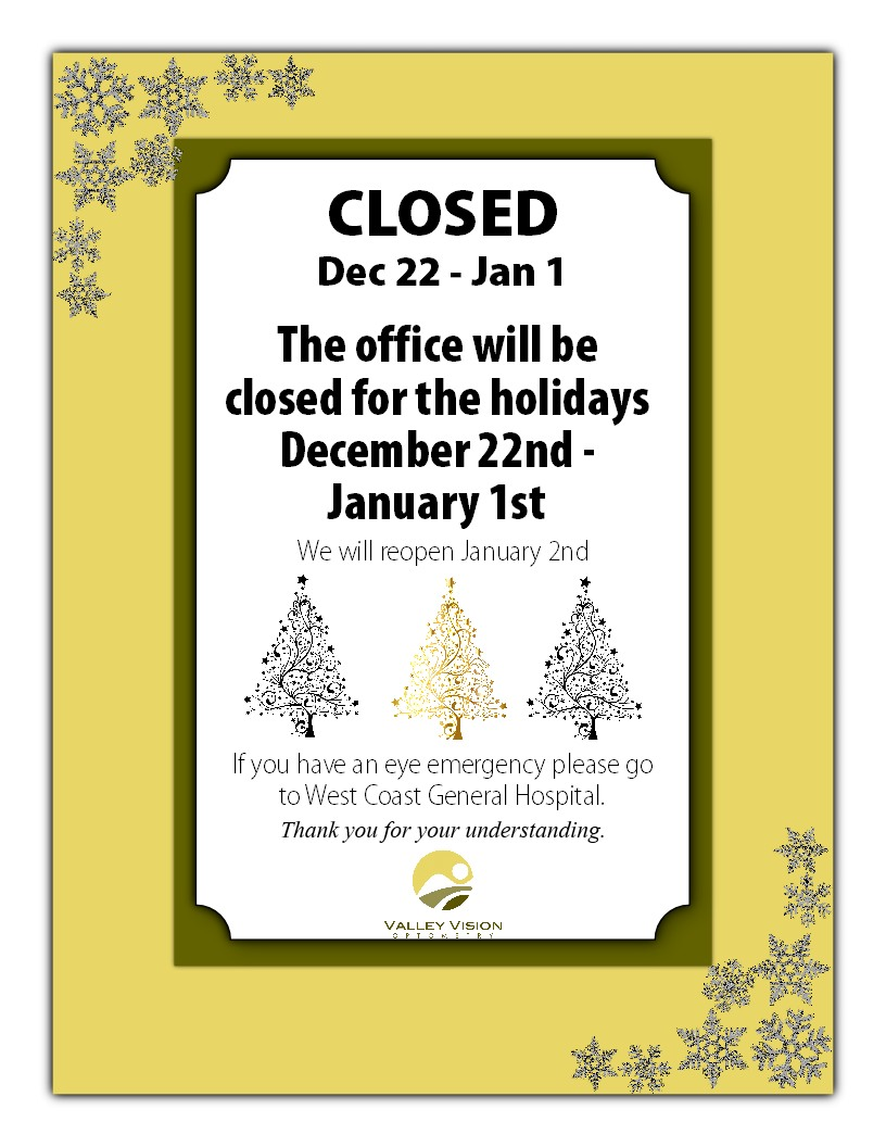 Office Hours   closed Christmas 2017