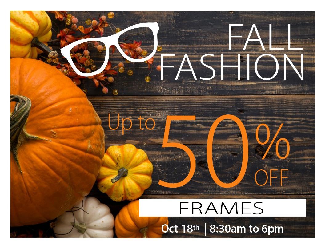 Fall Frame Sale badge