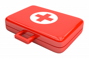First aid kit for eye emergencies in Laconia