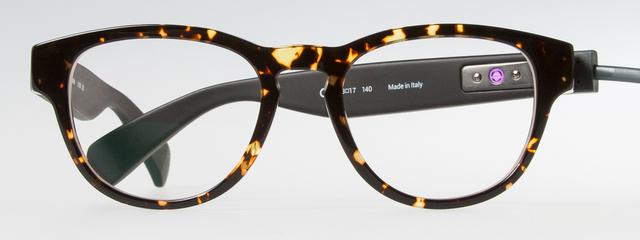 Optometrist, girl wearing Marchon NYC eyeglasses in Oak Brook, IL